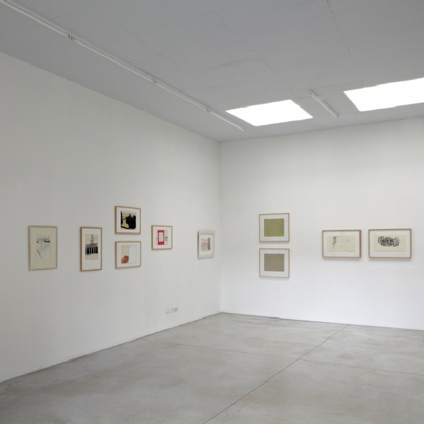 (It) Works on Paper. Opening show with Agnes Maes, Peter Morrens, Thomas Müller, Ronald Noorman, Jürgen Partenheimer, Roger Raveel, Luise Unger and Robin Vermeersch.